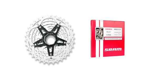 SRAM PG-980 Powerglide II 11-34 & PC-971 Power Chain II 9-pakka